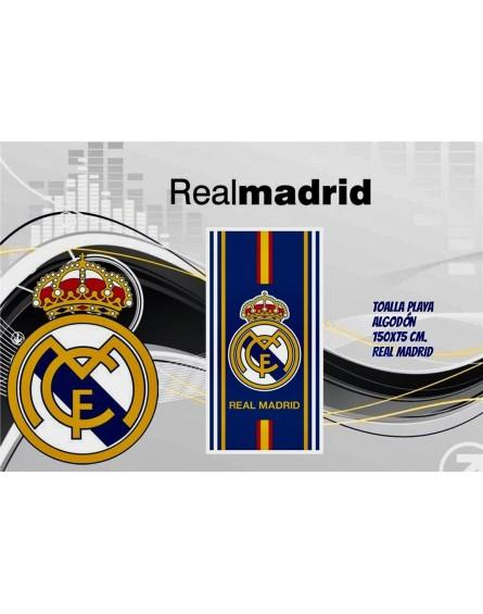 Toalla playa microfibra Real Madrid 011