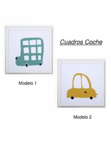 Cuadro Infantil C.Paula Coches